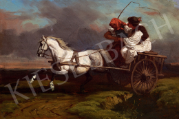 Lotz, Károly - The Wagon is Running (Courting)
