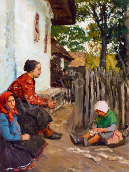 Glatz, Oszkár - Girls in the Garden