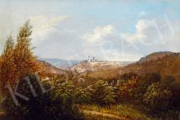 Telepy Károly - Város látképe