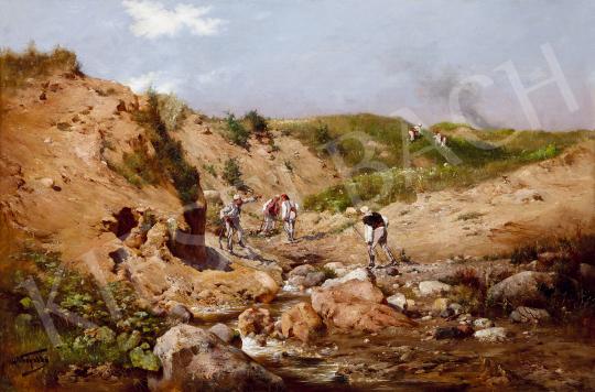 Neogrády László - Török katonák (Előörs) | 49. tavaszi aukció aukció / 127 tétel
