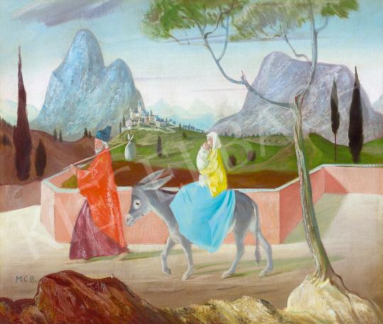 Molnár C., Pál - Escape to Egypt | The 49th auction of the Kieselbach Gallery. auction / 142 Item