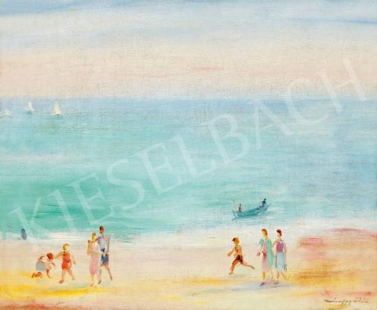 Márffy, Ödön - On the Beach | The 49th auction of the Kieselbach Gallery. auction / 195 Item