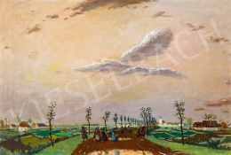 Fényes, Adolf - Road in the Great Plain After Rain