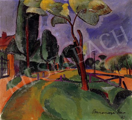 Bornemisza, Géza - View of a village | 8th Auction auction / 255 Item