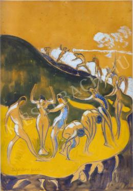 Scheiber Hugó - Táncoló alakok (1910-es évek)