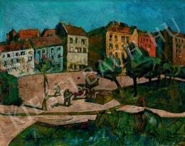 Scheiber Hugó - Téren (1922 körül)