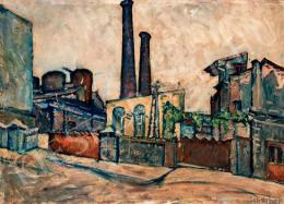 Scheiber Hugó - Gyárrészlet (1921 körül)