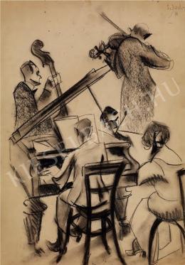 Scheiber Hugó - Zenélő társaság (1922)