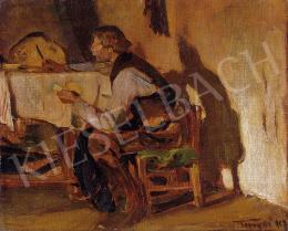 Tornyai János - Asztalnál