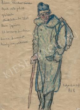 Scheiber Hugó - Holczer Sándor tizedes (Olasz fejlövés) (1918)