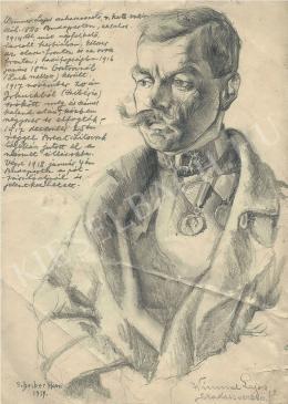Scheiber Hugó - Wimmer Lajos szakaszvezető (1917)