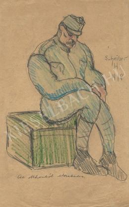 Scheiber Hugó - Az otthontól elszakadva (1918)