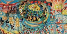 Scheiber Hugó - Körhinta (1927 körül)