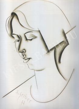 Scheiber Hugó - Hauswirth Magda arcképe (1926 körül)