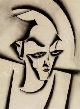 Scheiber Hugó - Fiatal férfi (1927 körül)