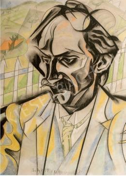 Scheiber Hugó - Babits Mihály portréja (1926)