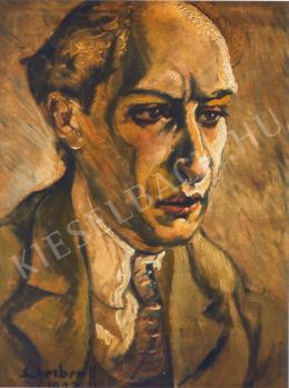 Scheiber Hugó - Komor András portréja (1923)