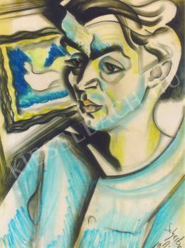 Scheiber Hugó - Dr. Antal Lajos arcképe (1930)