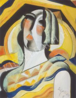 Scheiber Hugó - Női fej (1930-as évek első fele)