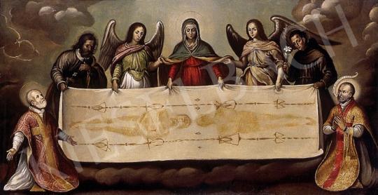 Ismeretlen festő - A torinói lepel | 8. Aukció aukció / 263 tétel