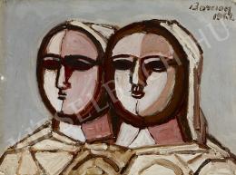 Barcsay Jenő - Két fej (1961)