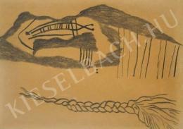 Vajda Lajos - Hegyvonulat hajfonattal (1938)