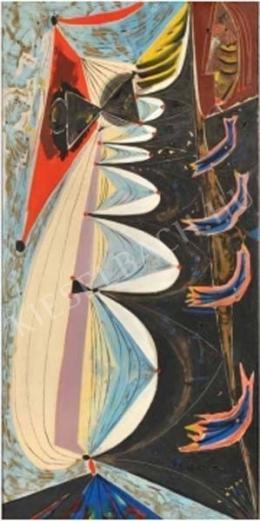 Hincz Gyula - Öregasszony (Öreg parasztasszony) (1969)