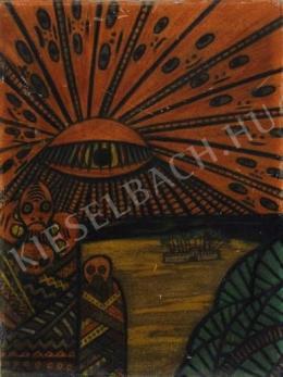 Mokry-Mészáros Dezső - Sugárzó nap-szem egy idegen bolygón (Serie IV Mysterium) (1910-es évek)
