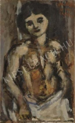 Czóbel Béla - Párizsi modell (Matisse után)