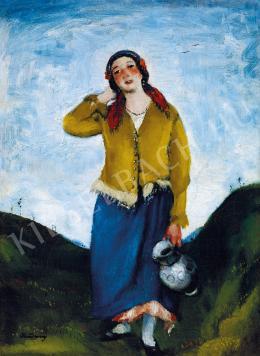 Rudnay Gyula - Fiatal lány korsóval