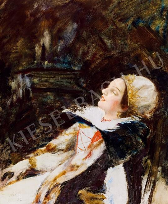 Csók István - Báthory Erzsébet festménye