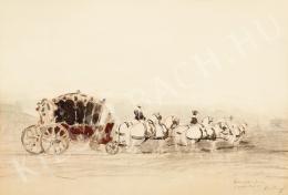 Rudnay, Gyula - Coronation carriage of Charles IV. (1916)