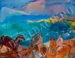 Márffy Ödön - Lovasok a vízparton (Lovasok a tengerparton)