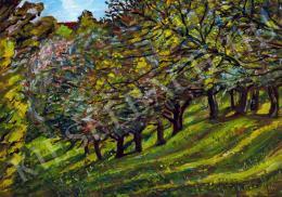 Nagy István - Erdélyi táj (Őszi fények) (1913)