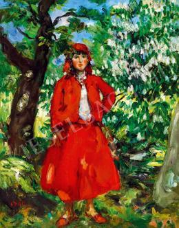 Csók István - Szabadban (1907)