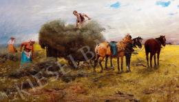 Pataky, László - In the field (Harvest)