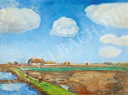 Iványi Grünwald Béla - Kék ég alatt (1910-es évek)