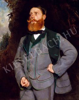 Székely Bertalan - A vadász (Aichelburg gróf portréja) (1858)