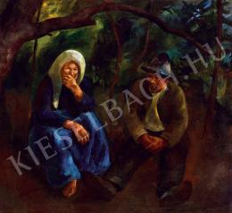 Szőnyi, István - Under the chestnut tree (1922)
