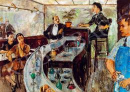 Biai-Föglein, István - In a bar (1939)