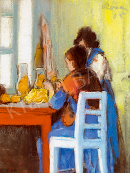 Rippl-Rónai, József - In front of a sunny window (1905)