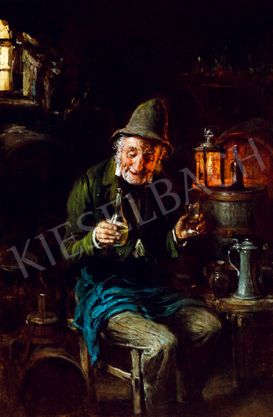 Kern Hermann - Borkóstoló   50. őszi aukció aukció / 8 tétel