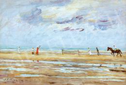 Góth, Móricz - Beach tennis (1911)