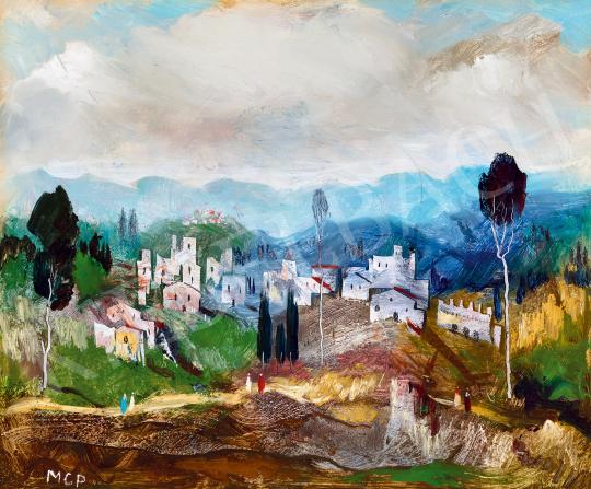Molnár C., Pál - Italian landscape | The 50th auction of the Kieselbach Gallery. auction / 17 Item