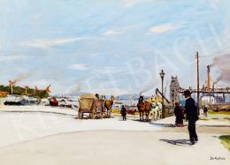 Berkes, Antal - Budapest scene (1912)