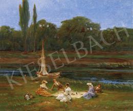Rubovics Márk - Piknik a folyóparton