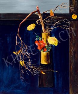 Korga György - Sárga virágok (1970 körül)