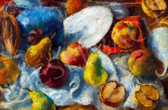 Basch Andor - Gyümölcscsendélet (Ősz) | 50. őszi aukció aukció / 31 tétel