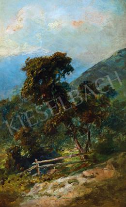Székely, Bertalan - Romantic Landscape