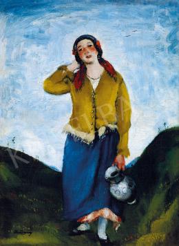 Rudnay, Gyula - Young girl with jug